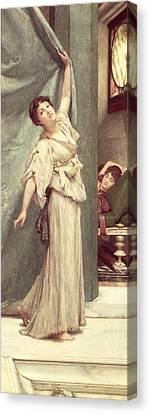 Midday Slumbers  Canvas Print by Sir Lawrence Alma-Tadema
