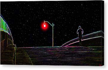 Midnight Run Canvas Print by David Lee Thompson