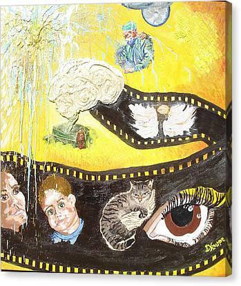 Mike's Reel Canvas Print by Lisa Kramer