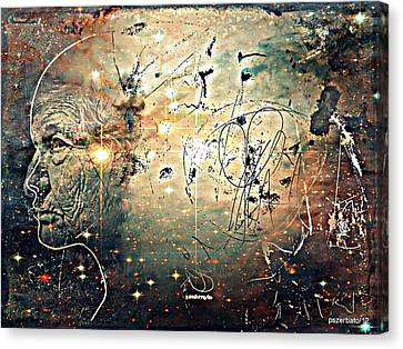 Mikrokosmos Canvas Print by Paulo Zerbato