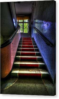 Military Steps Canvas Print by Nathan Wright