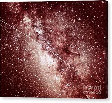 Milky Way In Sagittarius Canvas Print by Science Source