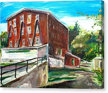 Millbury Mill Canvas Print by Scott Nelson