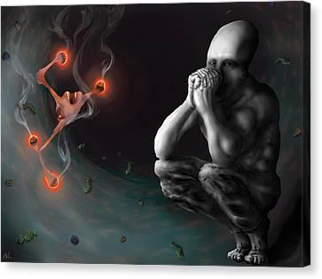 Mindset Canvas Print by Nicholas Vermes