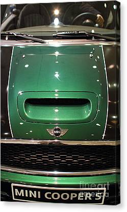 Mini Cooper . 7d9529 Canvas Print by Wingsdomain Art and Photography
