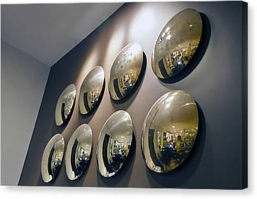 Mirrors Mirrors More Mirrors Canvas Print by Kantilal Patel