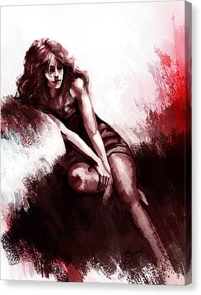 Missing You  Canvas Print by Kiran Kumar