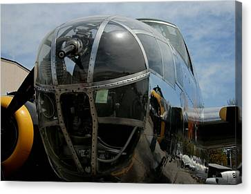 Mitchell B-25 Bomber Canvas Print by Christopher Kirby