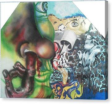 Mixed Feelings Canvas Print by Ethan Morehead