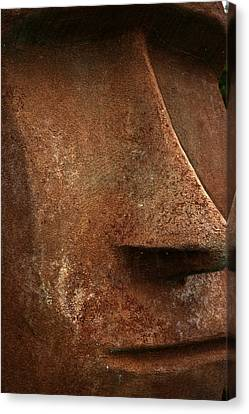 Moai Face Canvas Print by LeeAnn McLaneGoetz McLaneGoetzStudioLLCcom