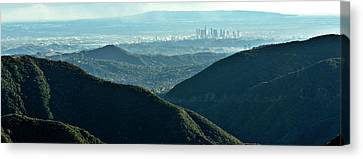 La From Twenty Miles Away Canvas Print by Gilbert Artiaga