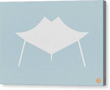 Modern Chair Canvas Print by Naxart Studio