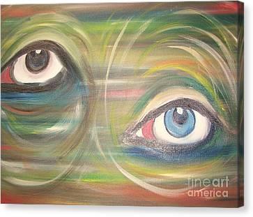 Monday Afternoon Migraine Canvas Print by Rachel Carmichael