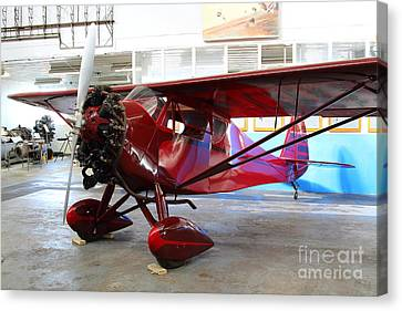 Monocoupe 110 . 7d11149 Canvas Print by Wingsdomain Art and Photography