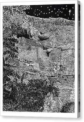 Montezuma Castle  Canvas Print by Jack Pumphrey