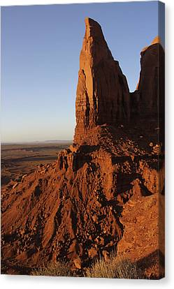 Monument Valley High-lites Canvas Print by Mike McGlothlen