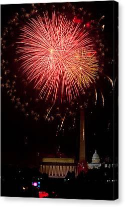 Monumental Celebration Canvas Print by David Hahn