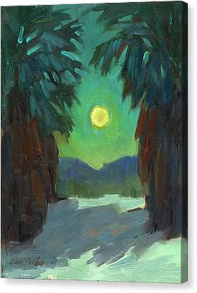 Moonrise Canvas Print by Diane McClary