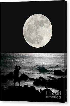 Moonrise Canvas Print by Paul Topp