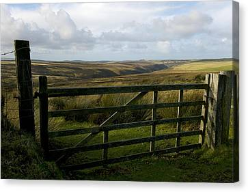 Moorland Canvas Print by Dr Keith Wheeler
