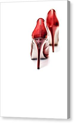 More Red Hot Seduction Canvas Print by Bob Daalder