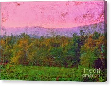 Morning In The Mountains Canvas Print by Judi Bagwell