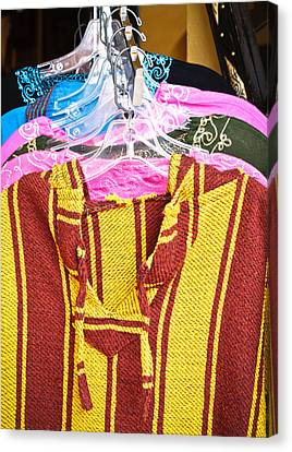 Moroccan Clothes Canvas Print by Tom Gowanlock