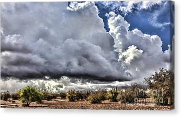 Morocco Clouds II Canvas Print by Chuck Kuhn