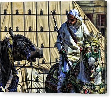 Morocco Festival II Canvas Print by Chuck Kuhn