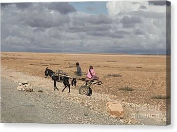 Morocco Transportation Canvas Print by Chuck Kuhn