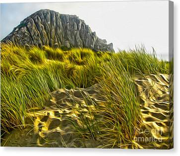 Morro Bay  Canvas Print by Gregory Dyer