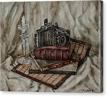 Moscow-2 Camera Canvas Print by Boris Filinov