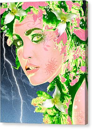Mother Nature Canvas Print by Methune Hively