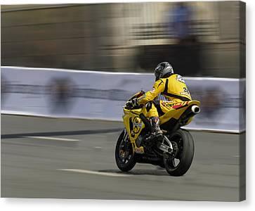 Motorbike Canvas Print by Igor Sinitsyn