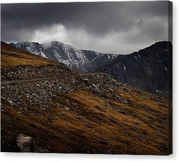 Mount Evans Canvas Print by Jim Painter