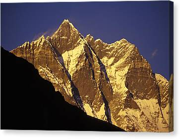 Mountain Peaks Canvas Print by Sean White