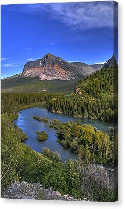 Mountana Wilderness Canvas Print by Don Wolf
