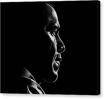 Mr. President Canvas Print by Jeff Stroman