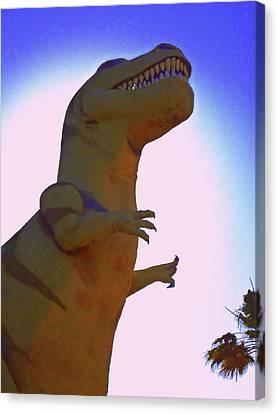 Mr. Rex 1 Canvas Print by Randall Weidner