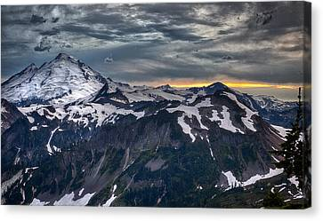 Mt Baker Canvas Print by A A