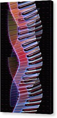 Musical Dna Canvas Print by Bill Cannon