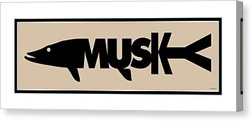 Musky Canvas Print by Geoff Strehlow