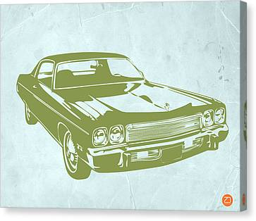 My Favorite Car 5 Canvas Print by Naxart Studio