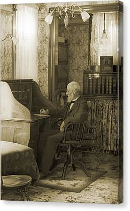 My Great-great-grandfather 1885 Canvas Print by Jan W Faul