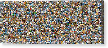 My Mosaic Canvas Print by Mauro Celotti
