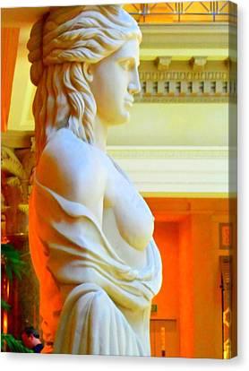 My Vegas Caesars 14 Canvas Print by Randall Weidner