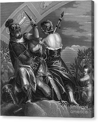 Mythology: Ares Canvas Print by Granger