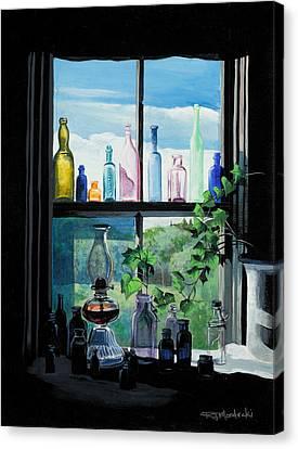 Naomi's Window Canvas Print by Richard Mordecki