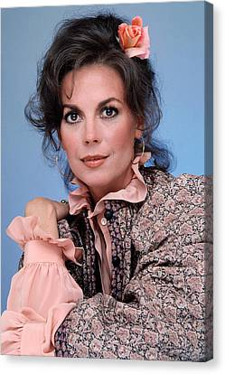 Natalie Wood In The 1970s Canvas Print by Everett
