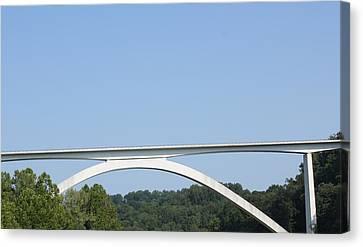 Natchez Trace Bridge Canvas Print by James Collier